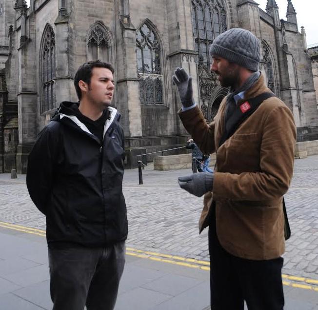 Chats in Edinburgh