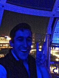 me on the london eye swagger