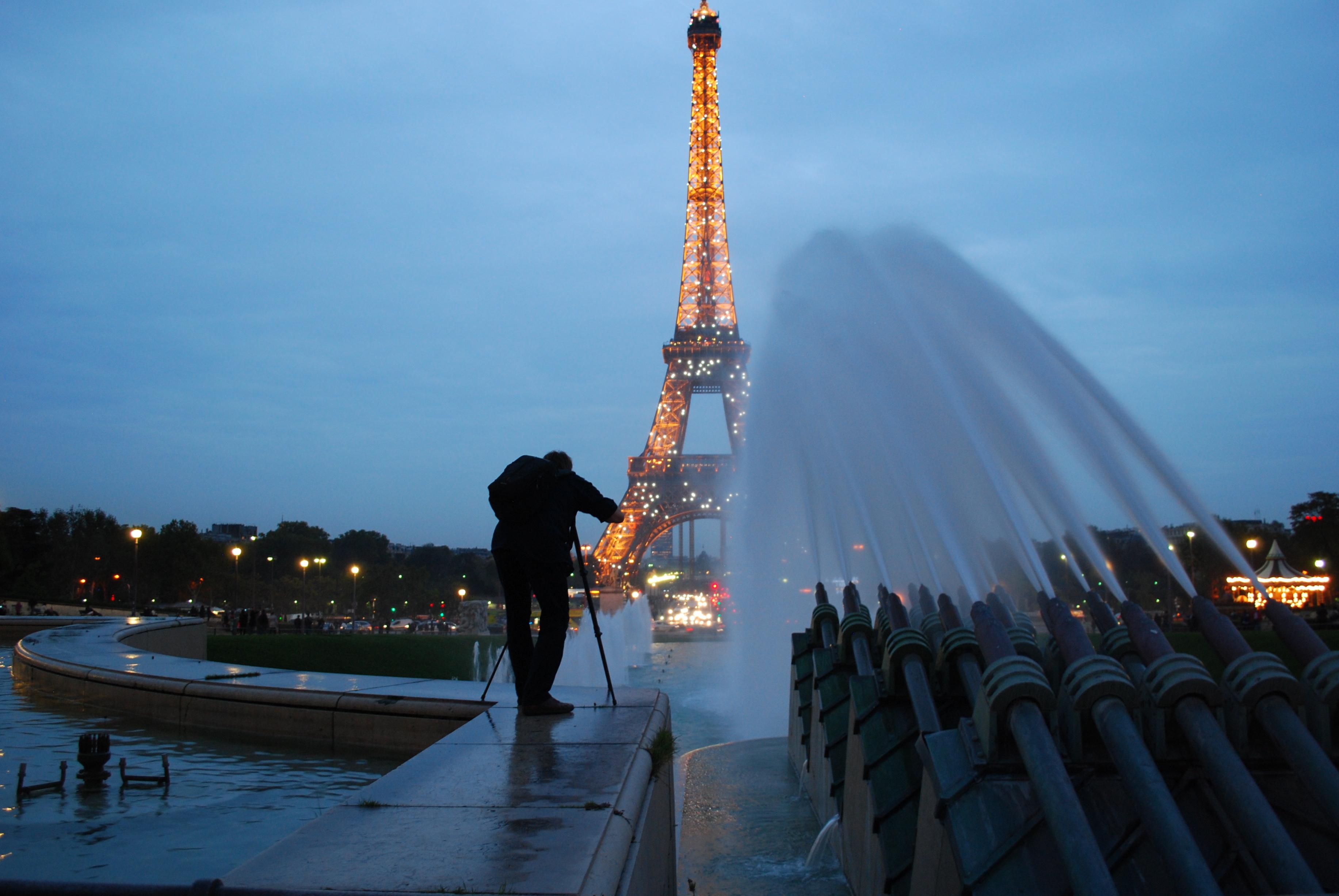 France- Amanda Roddy- The Eiffel after Dark