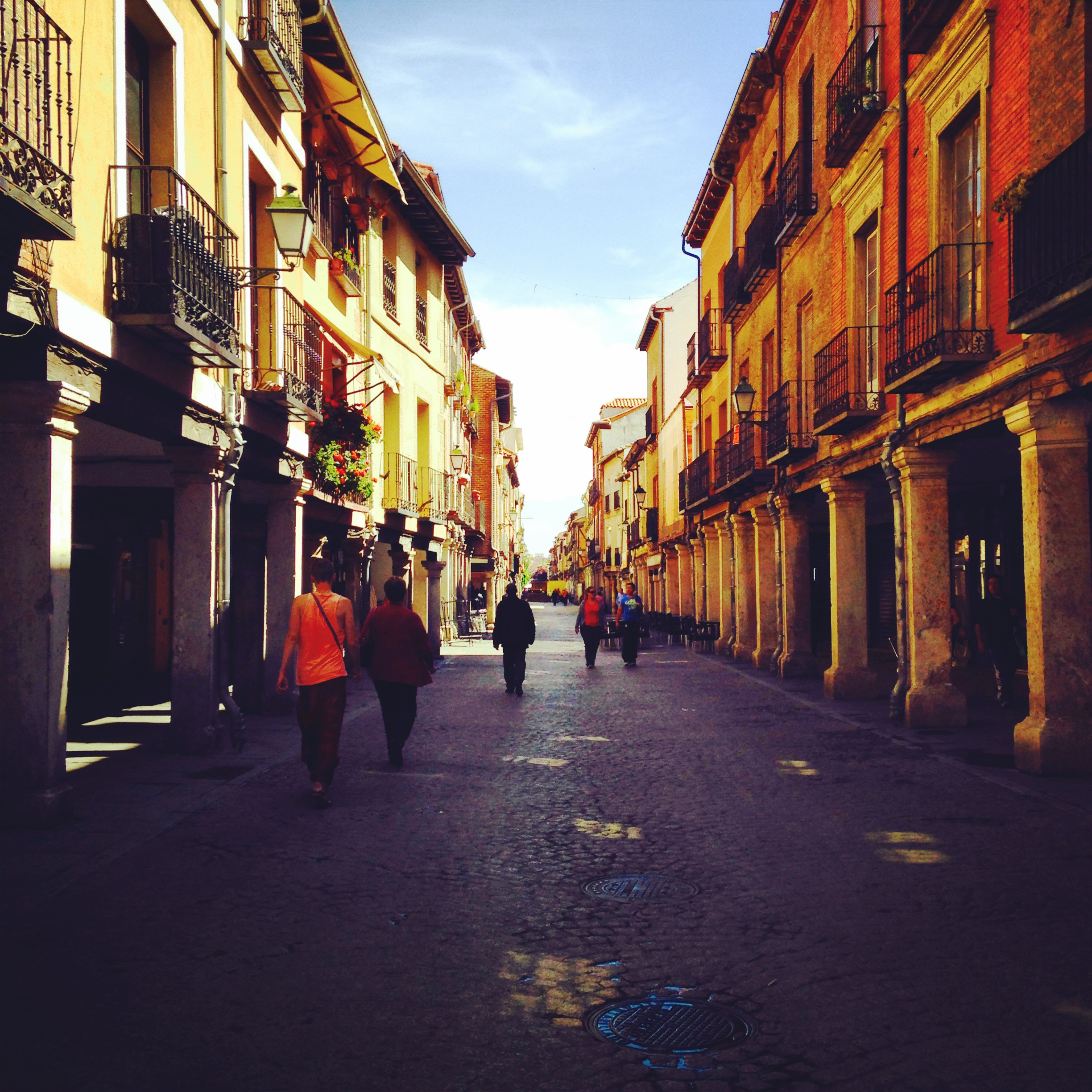 Alcalá is so beautiful.