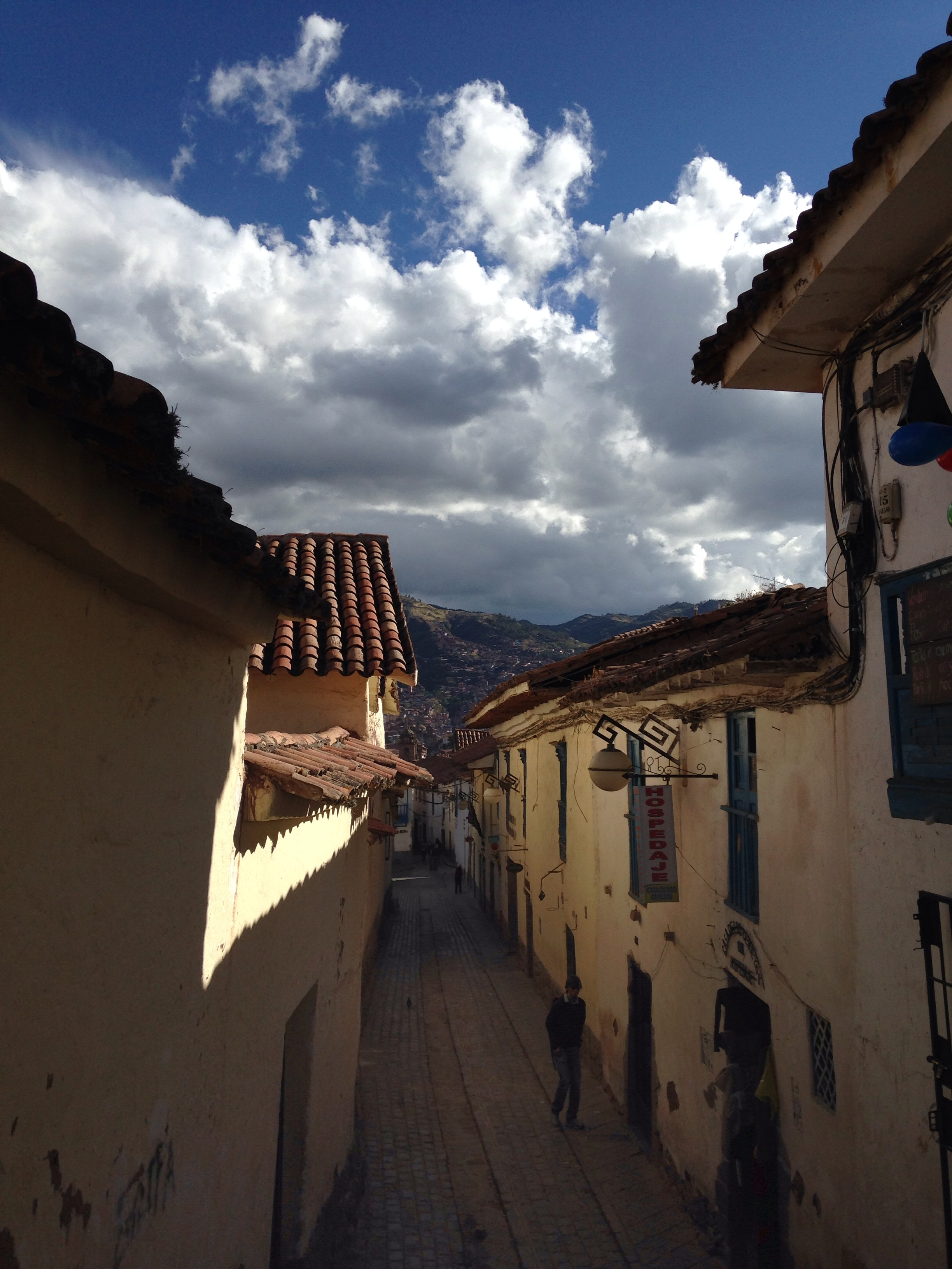 A street in Cusco