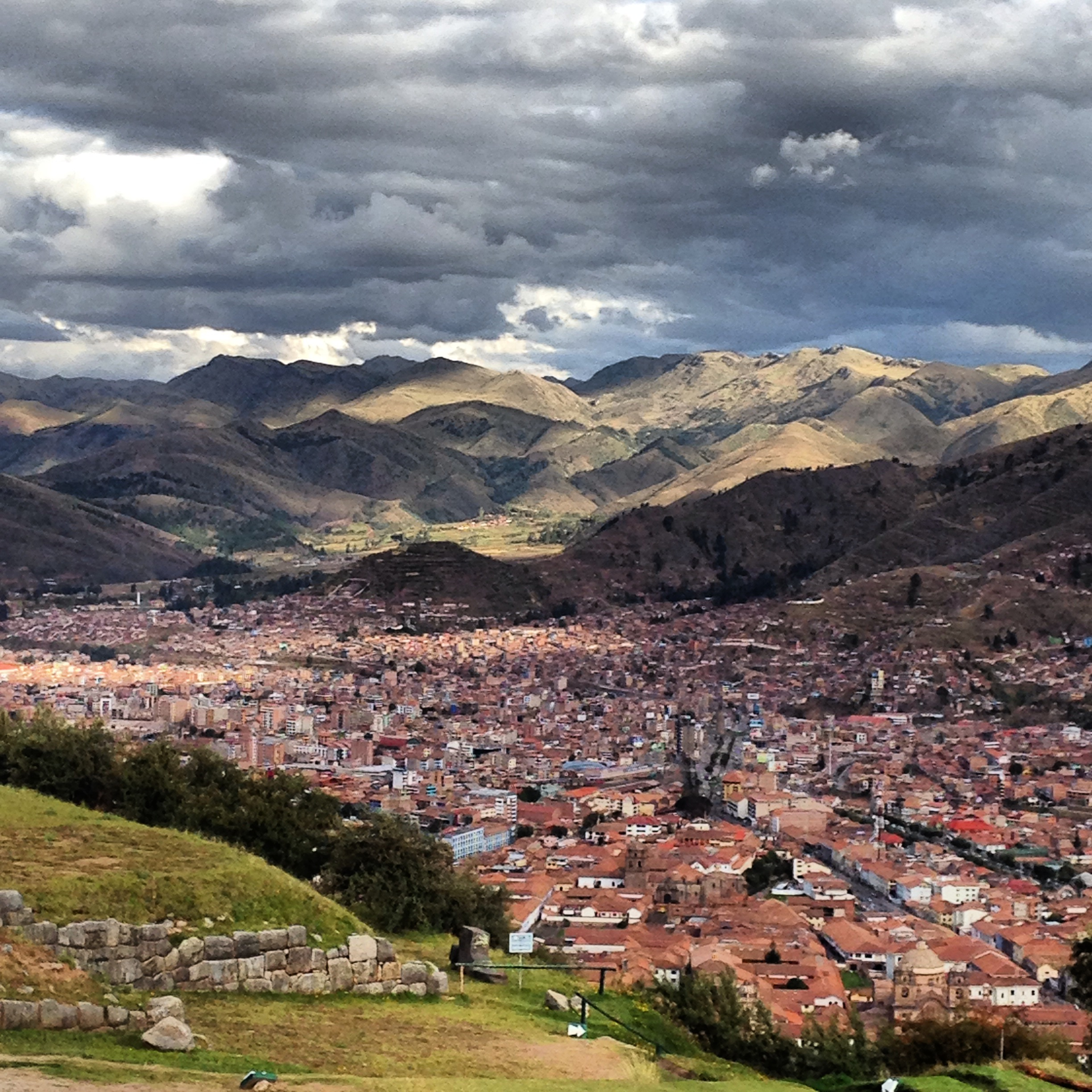 A view of Cusco from Saksaywaman.