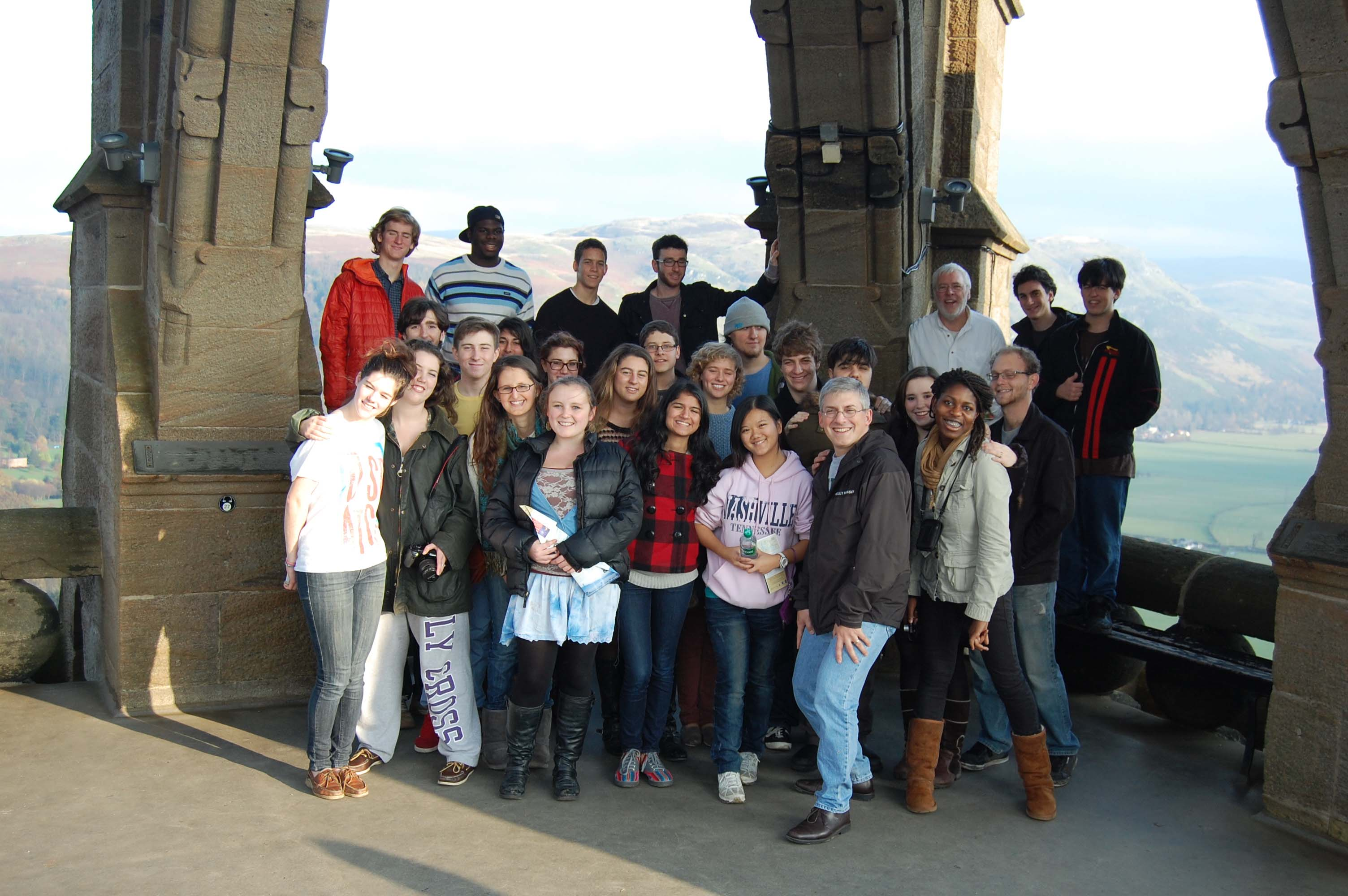Group trip to Scotland