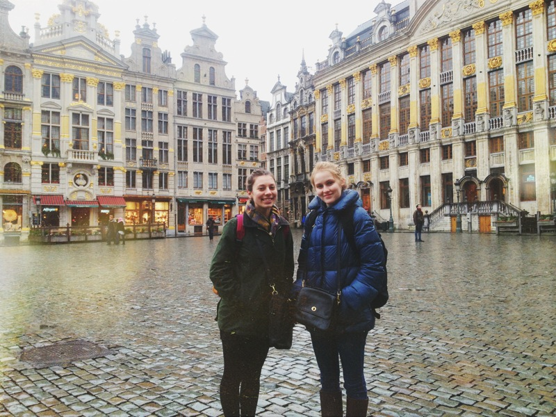 taken shortly before we got fed up with the rain and headed to Brugge!