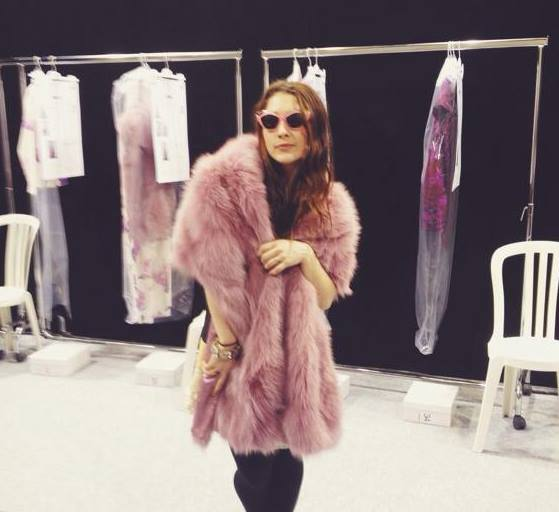 Because who could resist playing dress up at a fashion show in Paris?