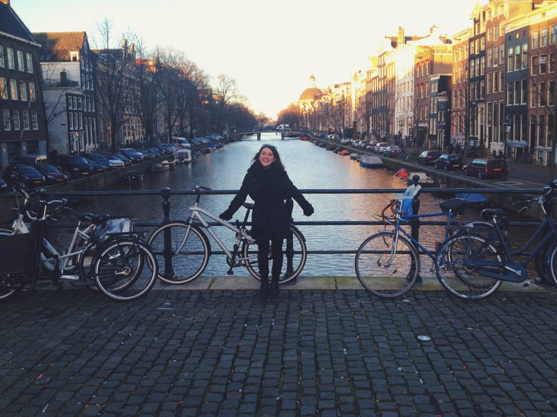 welcoming amsterdam's charm with open arms