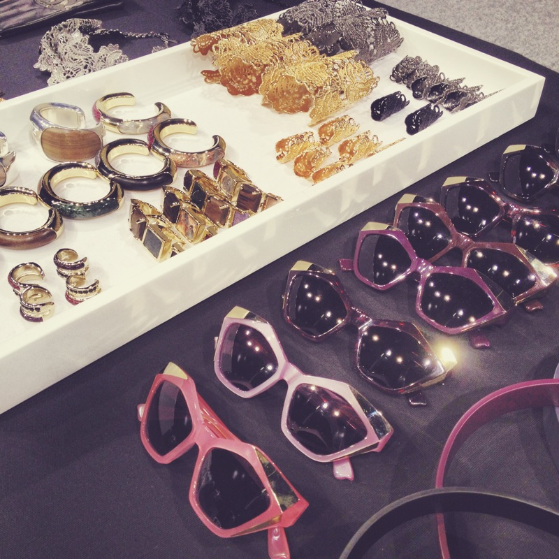 couldn't stop drooling over the accessories table