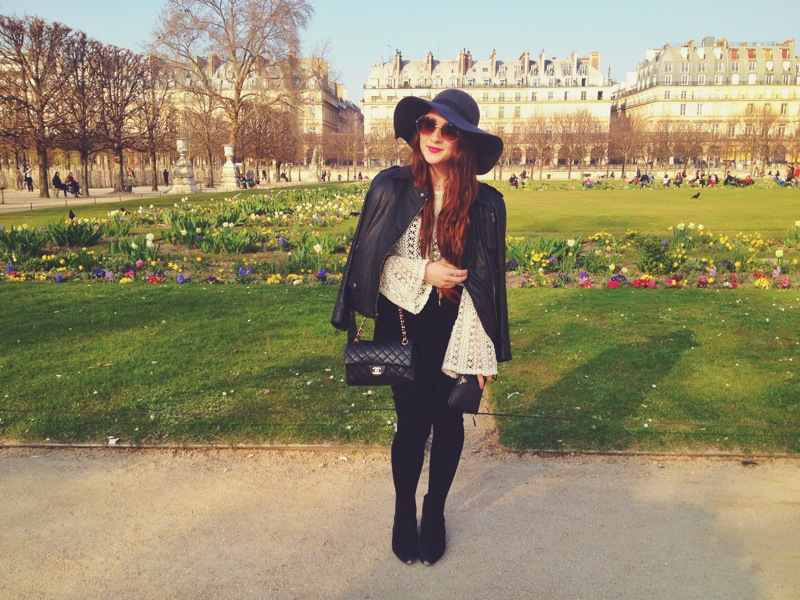 Afternoon stroll through the Tuileries