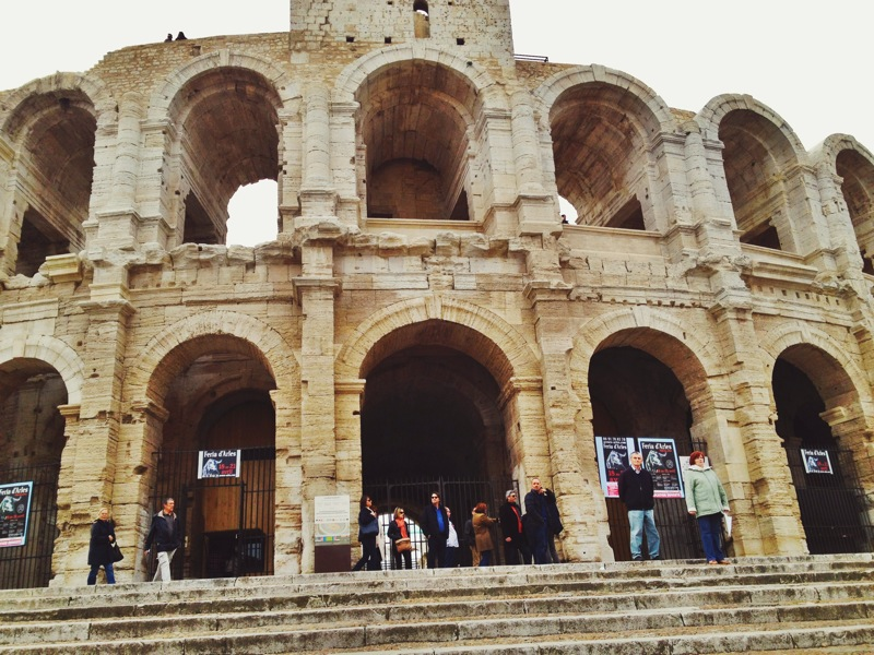 Amphitheater in Arles, France