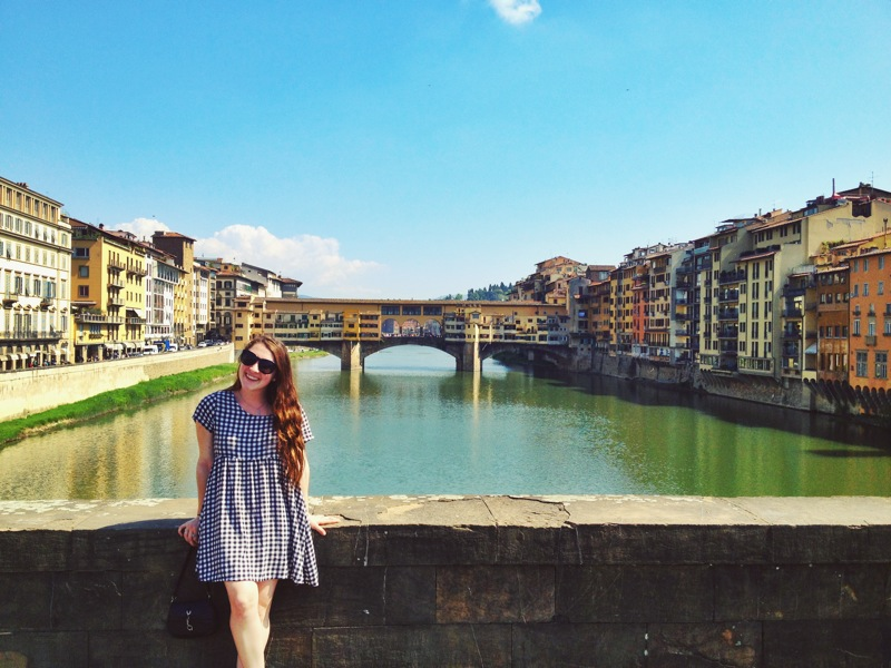 Ciao from sunny Firenze!