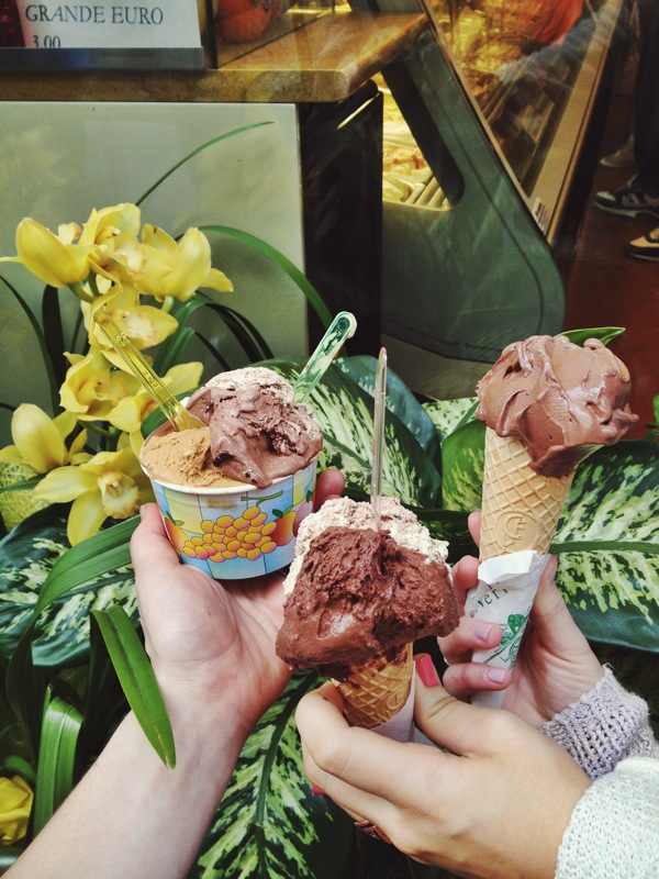 Hands down the best gelato I've ever had--yes, I did get four scoops and no, I'm not ashamed.
