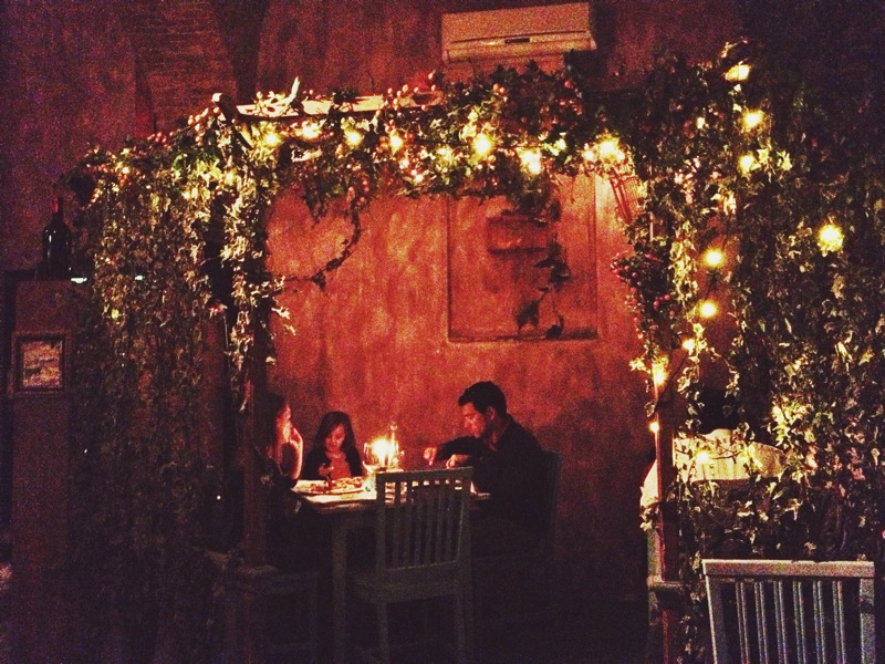 My absolute favorite restaurant in Florence! Such a funky vibe.